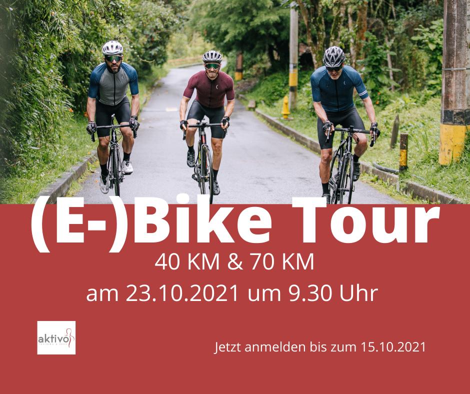(E-)Bike Tour